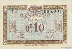 0,10 Franc FRANCE régionalisme et divers  1918 JP.135.02 SUP+