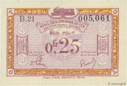 0,25 Franc FRANCE régionalisme et divers  1918 JP.135.03 SUP+
