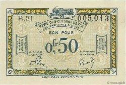 0,50 Franc FRANCE régionalisme et divers  1918 JP.135.04 SUP+