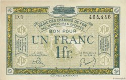 1 Franc FRANCE régionalisme et divers  1918 JP.135.05 SUP+