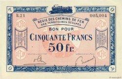 50 Francs FRANCE régionalisme et divers  1918 JP.135.09 SUP