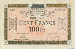 100 Francs FRANCE régionalisme et divers  1918 JP.135.10 SUP