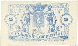 5 Francs FRANCE régionalisme et divers FONTVIEILLE 1914  SUP