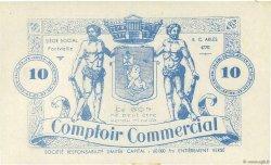 10 Francs FRANCE régionalisme et divers FONTVIEILLE 1914  SPL