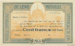 100 Francs FRANCE régionalisme et divers LENS 1930  SPL