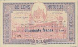 50 Francs FRANCE régionalisme et divers LENS 1930  SUP