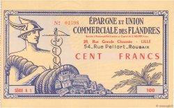 100 Francs FRANCE régionalisme et divers Lille 1955  SPL