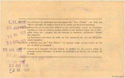 1 NF sur 100 Francs FRANCE régionalisme et divers Lille 1959  TTB+