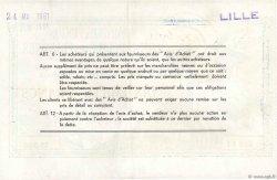 100 NF sur 10000 Francs FRANCE régionalisme et divers LILLE 1959  SUP