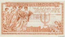 50 Francs FRANCE régionalisme et divers LIMOGES 1920  SPL