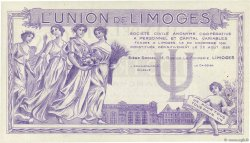 100 Francs FRANCE régionalisme et divers LIMOGES 1920  SPL