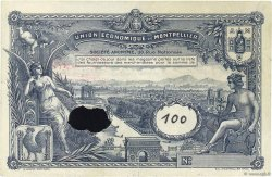 100 Francs FRANCE régionalisme et divers MONTPELLIER 1920  TTB
