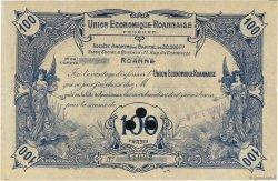 100 Francs FRANCE régionalisme et divers Roanne 1923  TTB+