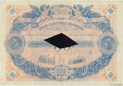 50 Francs FRANCE régionalisme et divers ROANNE 1929  TTB