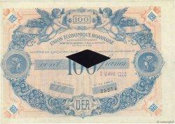 100 Francs FRANCE régionalisme et divers ROANNE 1929  SUP