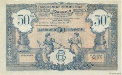 50 Francs FRANCE régionalisme et divers Roanne 1935  TTB