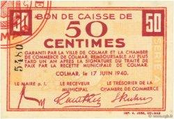 50 Centimes FRANCE régionalisme et divers COLMAR 1940 K.012 NEUF
