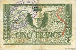 5 Francs FRANCE régionalisme et divers Nantes 1940 K.081 TB