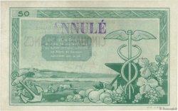 50 Francs FRANCE régionalisme et divers NANTES 1940 K.084-SP1 SUP