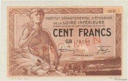 100 Francs FRANCE régionalisme et divers Nantes 1940 K.085-SP1 SPL