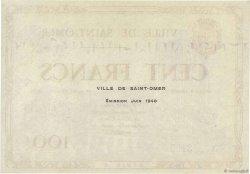 100 Francs FRANCE régionalisme et divers Saint-Omer 1940 K.112 pr.NEUF