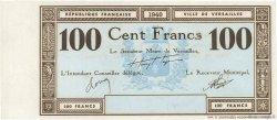 100 Francs FRANCE régionalisme et divers VERSAILLES 1940 K.130a