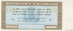 100 Francs FRANCE régionalisme et divers Versailles 1940 K.130a SPL