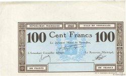 100 Francs FRANCE régionalisme et divers Versailles 1940 K.130b SPL