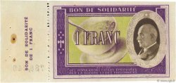 1 Franc FRANCE régionalisme et divers  1941  SUP