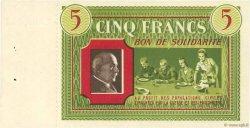 5 Francs FRANCE régionalisme et divers  1941  SPL