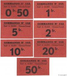 0,50 Francs à  50 Francs FRANCE régionalisme et divers Clermont-Ferrand 1940 K.063 série NEUF