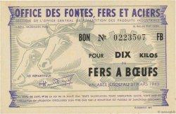 10 Kilos Fers à Bœufs FRANCE régionalisme et divers  1943  SPL