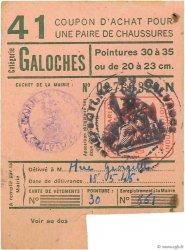 1 Galoche FRANCE régionalisme et divers  1945  TTB