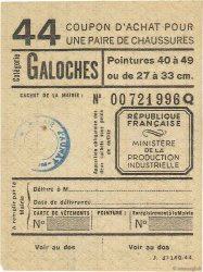 1 Galoche FRANCE régionalisme et divers  1945  SUP