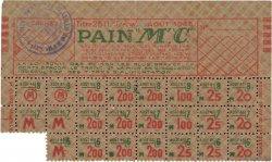 200 Grammes Pain FRANCE régionalisme et divers  1945  TTB