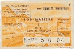 1 Unité FRANCE régionalisme et divers  1945  TTB+