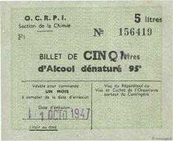 5 Litres FRANCE régionalisme et divers  1947  TTB