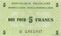 5 Francs FRANCE régionalisme et divers  1945 K.002 NEUF