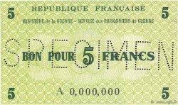 5 Francs FRANCE régionalisme et divers  1945 K.002s pr.NEUF
