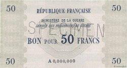 50 Francs FRANCE régionalisme et divers  1945 K.004s NEUF