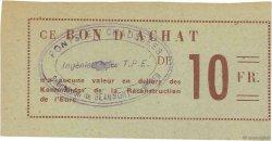 10 Francs FRANCE régionalisme et divers  1940 K.027.4b SPL