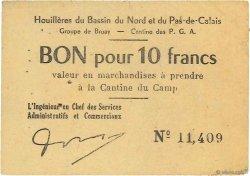 10 Francs FRANCE régionalisme et divers BRUAY 1945 K.067.04a TTB
