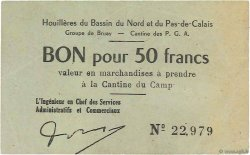 50 Francs FRANCE régionalisme et divers BRUAY 1945 K.067.06a TTB