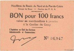 100 Francs FRANCE régionalisme et divers Bruay 1945 K.067.07a SPL