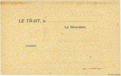 1 Franc FRANCE régionalisme et divers LE TRAIT 1940 K.076.02b SUP