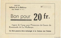 20 Francs FRANCE régionalisme et divers Le Trait 1940 K.076.05a SPL