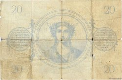 20 Francs type 1871 FRANCE  1871 F.A46.02 AB