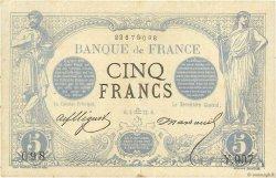 5 Francs NOIR FRANCE  1872 F.01.10 TTB+