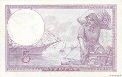 5 Francs VIOLET FRANCE  1920 F.03.04 SUP+