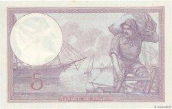 5 Francs VIOLET FRANCE  1921 F.03.05 pr.NEUF